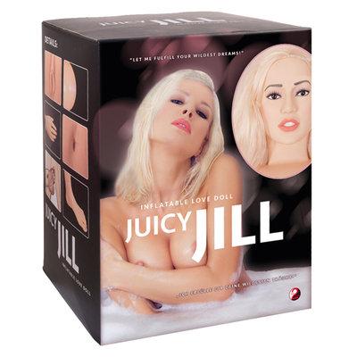 Juicy Jill - blonde opblaaspop