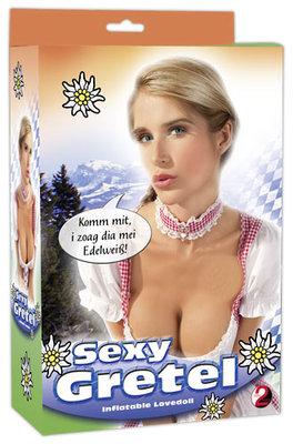 Sexy Gretel Opblaaspop