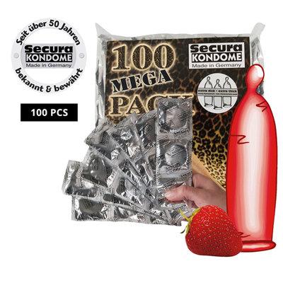 Condooms Red Sin Condooms - 100 stuks