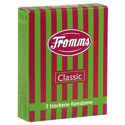 Fromms Condooms zonder glijmiddel - 3 stuks