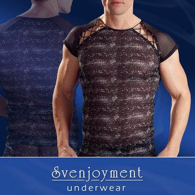 Mannen shirt reptiel print