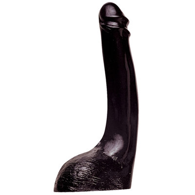 Dildo All Black 32 - Zwart