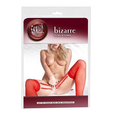 Clips Bizarre - Vaginaklemmen En Jarretelkousen