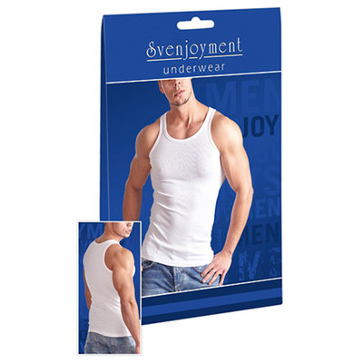 Heren Tanktop - Wit